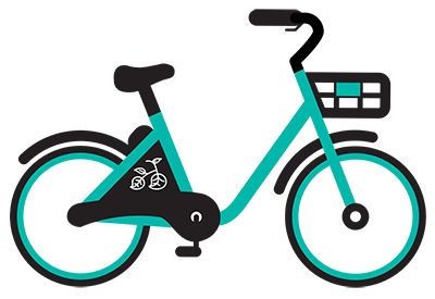Veo bike icon
