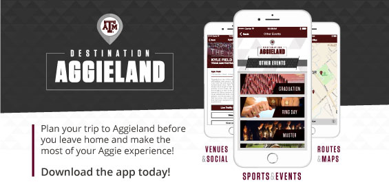 Get the Destination Aggieland app