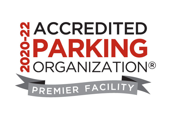 Cain Garage designated an Accredited Parking Organization Premier Facility