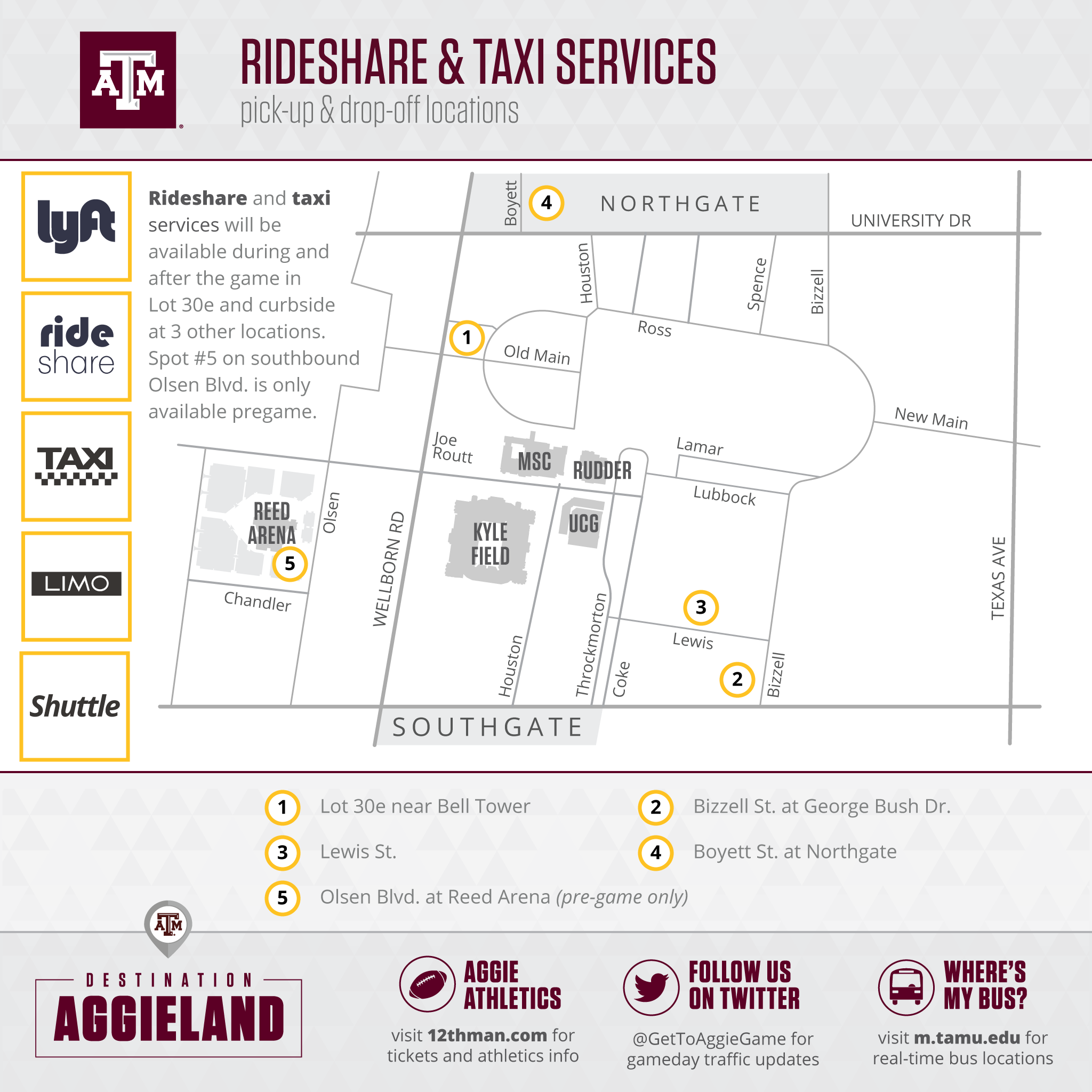 ride share map