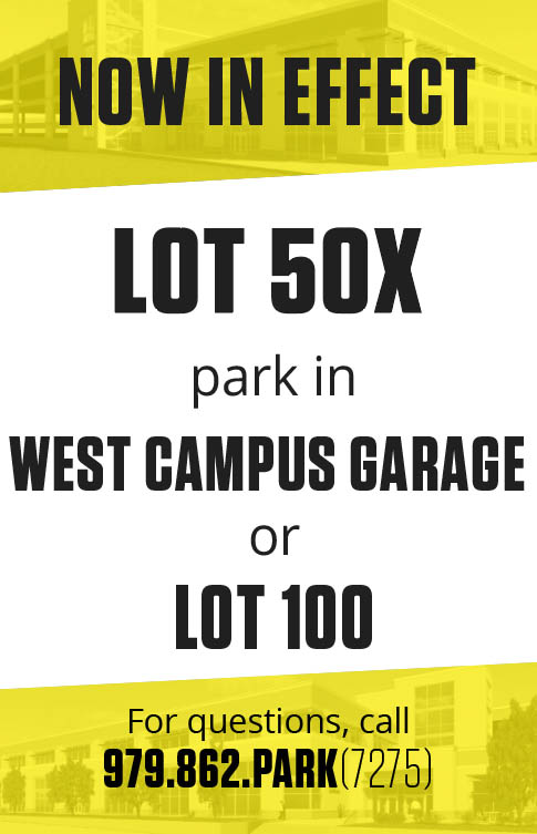 Lot 50 sign